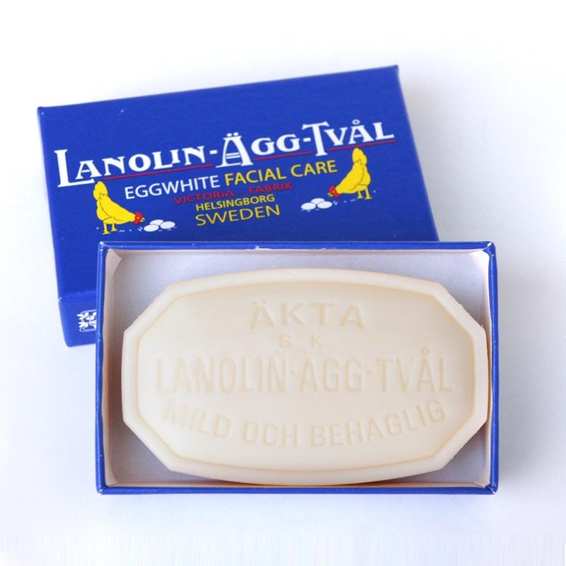 خرید صابون جوانسازی لانولین Eggwhite ویکتوریا