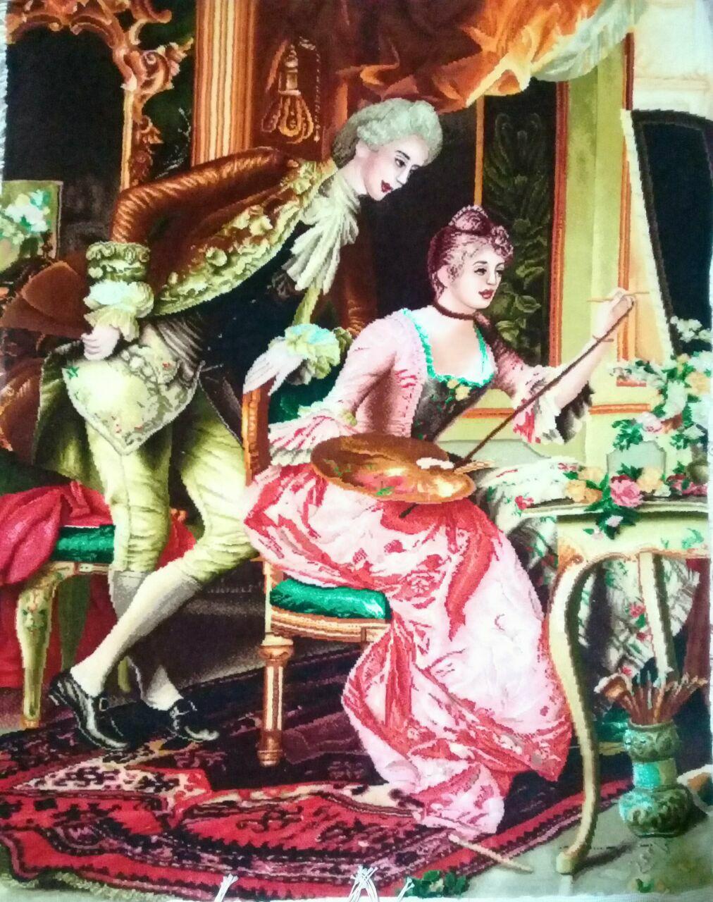 خرید تابلو نقاش جوان